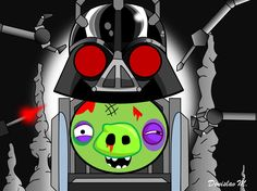 Darth Vader in Angry Birds Star Wars