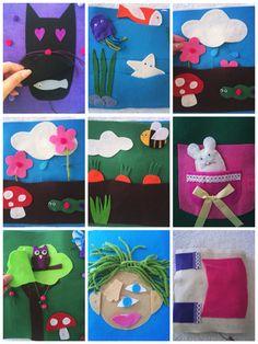 #Quietbook #Libro sensorial hecho a mano #Handmade Arte Sano KIDS: Juguetes artesanos #artesanokids Visita nuestra página de Facebook