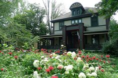 Arts and Crafts Style home in East Aurora, NY.