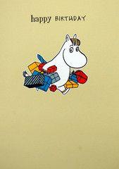 Moomin birthday card - SNORKMAIDEN