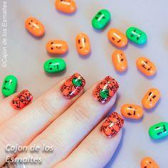 🍬 Dia das Bruxas Unhas Arte e Doces -  / 🍬 Halloween Nail Art and Candy -