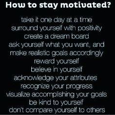 Good morning!! Stay motivated!! #goodmorning #motivation #staymotivated