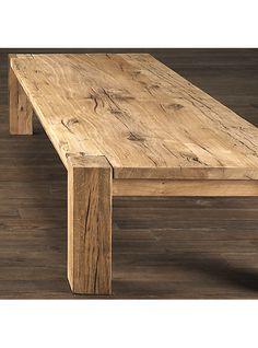 tavolino da soggiorno qaudrato in castagno