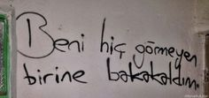 Şiir Gökyüzünde Sad Words, Cool Words, Word 3, My Philosophy, Live Love, Best Quotes, Quotations, Thats Not My, Graffiti