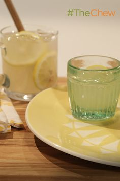 Grown-up Lemonade sounds like the perfect weekend treat!