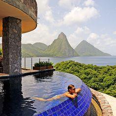 Jade Mountain- FAVE Brides: The Best Honeymoon Resorts Around the World  - Best Honeymoon Locations