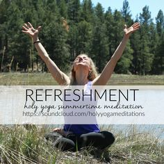 Join us this summer for some beautiful recorded summer meditations, focusing on…