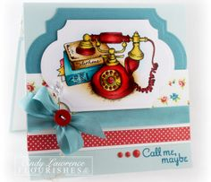 Welcome to Flourishes   Papercrafting   Cardmaking   Exclusive Clear Polymer Stamps   Call Me, Maybe