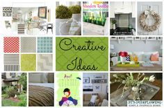 Creative Ideas for the Home! - Decor - Crafts - Design @Amber Johnson Overflowing