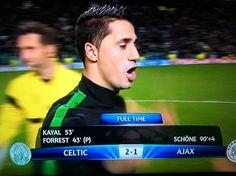 10/22/13 Celtic vs Ajax