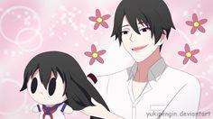 Yandere Simulator - Senpai doll by Yukipengin Male Yandere, Animes Yandere, Yandere Anime, Yendere Simulator, Yandere Simulator Memes, Gifs, Manga Cute, Anime Love Couple, Anime People