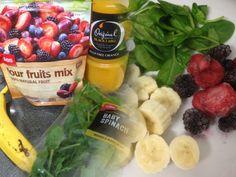 #Berries, #Breakfast, #Smoothie