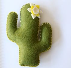 Felt Cactus Pin Cushion Pattern