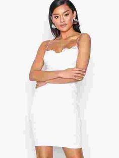Lace Bodycon Dress - Nly One - Hvit - Festkjoler - Klær - Kvinne - Nelly.com Bodycon Dress, Lace, Dresses, Gowns, Dress, Lace Making, Day Dresses, Clothing, The Dress