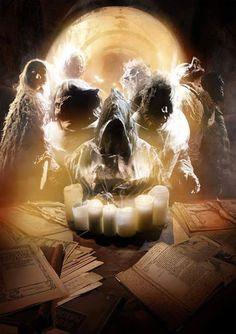 Skull illusion by Sven Sauer Memento Mori, Dark Fantasy Art, Dark Art, Burg Frankenstein, Spiritual Eyes, Skull Pictures, Skull Face, Halloween Festival, Skull Tattoos