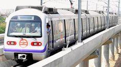 Slideshow : Delhi Metro flags off trial run on Violet line - Delhi Metro commences trial runs on Badarpur-Faridabad line - The Economic Times Government Website, Government Jobs, Job Page, Delhi Metro, Metro Rail, Trending Hashtags, Home Guard, Latest World News, Economic Times