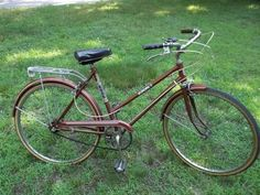 """vintage ladies 3 speed 'ROSS EUROPA 3' street bicycle 26"""" copper color"""