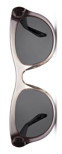 A sleek cat's-eye silhouette lends a vintage vibe to these Warby Parker sunglasses.
