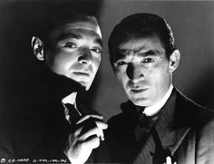 """Peter Lorre & George E. Stone - In """"The Face Behind The Mask"""""""