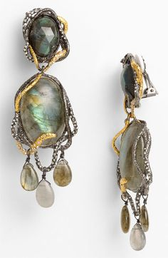 Alexis Bittar 'Elements - Siyabona' Chandelier earrings  - Bittar is probably one of the few designers out there who holds my attention. Wonderful.