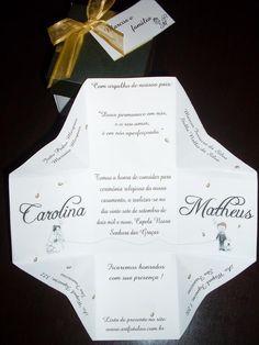 modelos de convites de casamento - 9