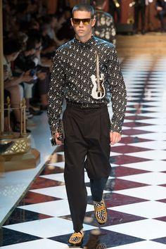 Dolce & Gabbana Spring 2017 Menswear Fashion Show - Federico Spinas