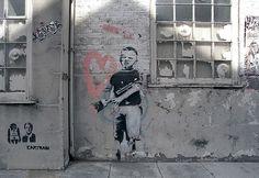 Banksy - Angel