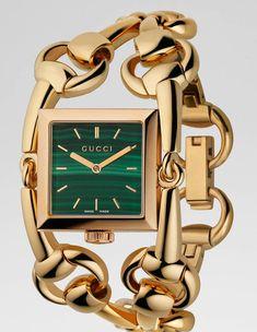 Gucci Signora Twisted Luxury Womens Watch www.delladetrends - Gucci Watch - Ideas of Gucci Watch - Gucci Signora Twisted Luxury Womens Watch www. Stylish Watches, Luxury Watches, Cool Watches, Watches For Men, Wrist Watches, Women's Watches, Concord Watches, Gucci Watch, Expensive Watches