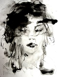 "Saatchi Online Artist: Hein Kocken; Ink 2011 Printmaking """"The Korean Model"""""