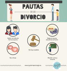 Pautas para superar un divorcio con hijos