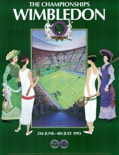 wimbledon posters - Google Search