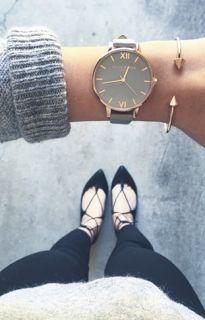 Olivia Burton Watches and Clare V Bags #anthrofave Olivia Burton Watches, Big Watches, Bracelet Watch, Jewelery, Jewelry Box, Bracelets, Women's Accessories, Fashion Watches, Passion For Fashion