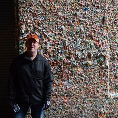 Seattle Washington  Gum Wall