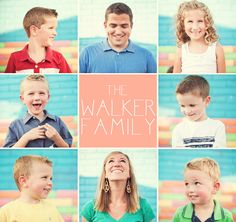 Brady bunch inspired family photo {by coatiphotography.com}
