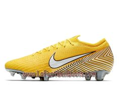 9b759445aecd9 Nike Mercurial Vapor 360 Elite Neymar Jr. FG Chaussure de football à  crampons pour terrain sec Jaune AO3126 710 - 1807041137