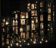 Mathilde Nivet, Dream City, 2009. Nice idea for Hanukkah or Christmas
