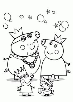 peppa pig Printable Peppa Pig Coloring Pages. Have a Joy with Peppa Pig Coloring Pages. Do your children like to color pictures? If they do, the Peppa pig coloring pages can be the right cho Peppa Pig Coloring Pages, Happy Birthday Coloring Pages, Family Coloring Pages, Valentine Coloring Pages, Christmas Coloring Pages, Animal Coloring Pages, Coloring Pages To Print, Free Printable Coloring Pages, Coloring Pages For Kids