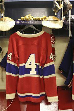 Jean Beliveau Hockey Hall of Fame - #Habs #Hockey
