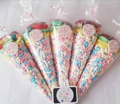 Items similar to 5 Halal Personalised Rainbow Marshmallows & Sweets Large Sweet Cones, Kids Birthday Favours Party Bags Gifts on Etsy Party Co, Party Bags, Party Gifts, Party Favors, Sweet Cones, Chocolate Bouquet, Kids Party Themes, Gift Cake, Personalized Gifts