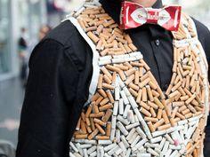 trashyb-recycled-cigarette-clothing-2 | Ecouterre