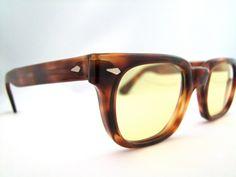 AMERICAN Optical Tortoiseshell  Eyeglasses With by ifoundgallery, $125.00