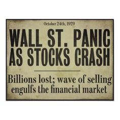 Trademark Art 'Wallstreet' by Color Bakery Textual Art on Wrapped Canvas Size: Newspaper Headlines, Old Newspaper, Newspaper Article, Metal Wall Art, Canvas Wall Art, Canvas Prints, Before Us, Stock Market, Canvas Size