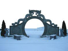 From: Oriental Stone Dragon Gate by FantasyStock.deviantart.com on @deviantART