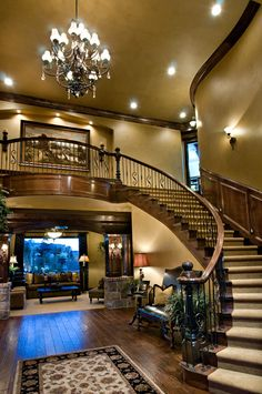 Ahhh, the woodwork! 2008 parade home...my fave home of all time!