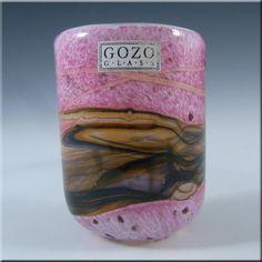 Gozo Maltese Glass 'Seashell' Vase - Signed + Labelled #2 - £30.00