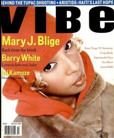 Mary J. Blige (February 1995) | 20 Vibe Magazine Covers That Perfectly Define The '90s