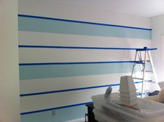 How to paint perfect stripes!
