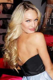 Start curling near the ear so the top is smooth and voluminous and the bottom is more wavy