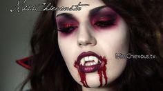 Vampire makeup, Halloween looks