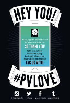 Customer Appreciation – Polyvinyl Record Co.
